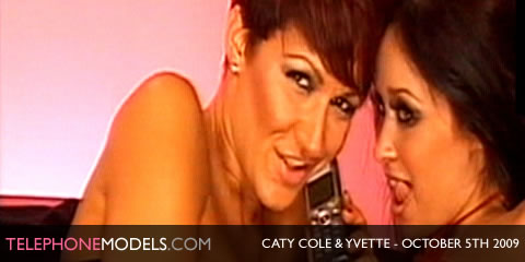 TelephoneModels.com Caty Cole Yvette Merriman Babestation October 5th 2009 Caty Cole & Yvette Merriman   Babestation   October 5th 2009
