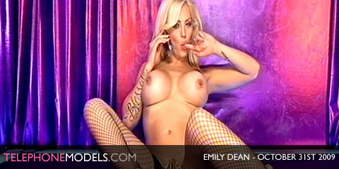 TelephoneModels.com Emily Dean Elite TV October 31st 2009 Emily Dean   Elite TV   October 31st 2009