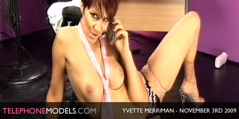 TelephoneModels.com Yvette Merriman Babestation November 3rd 2009 Yvette Merriman   Babestation   November 3rd 2009