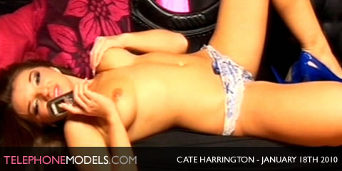 TelephoneModels.com Cate Harrington Babestation January 18th 2010 Cate Harrington   Babestation   January 18th 2010