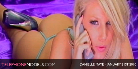 TelephoneModels.com Danielle Maye Angels TV January 21st 2009 Danielle Maye   Angels TV   January 21st 2010