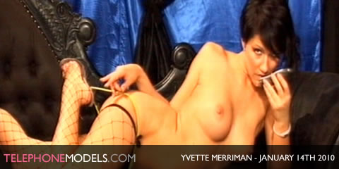 TelephoneModels.com Yvette Merriman Babestation January 14th 2010 Yvette Merriman   Babestation   January 14th 2010