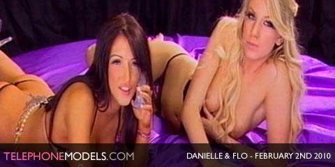 TelephoneModels.com Danielle Maye Flo Angels TV February 2nd 2010 Danielle Maye & Flo   Angels TV   February 2nd 2010