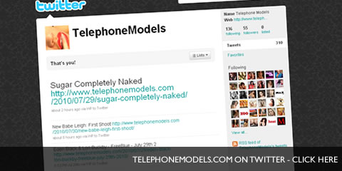 TelephoneModels.com Twitter Follow TelephoneModels.com on Twitter