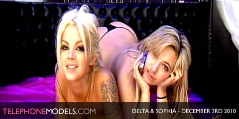 TelephoneModels.com Delta White Sophia Knight December 3rd 2010 Delta White & Sophia Knight   Elite TV   December 3rd 2010