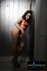 TelephoneModels.com Anastasia Harris March 31st 2011 1 199x300 Anastasia Harris Red Lingerie Shoot