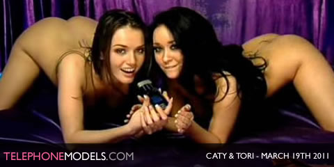 TelephoneModels.com Caty Cole Tori Black Elite TV March 19th 2011 Caty Cole & Tori Black   Elite TV   March 19th 2011