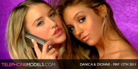 TelephoneModels.com Danica Dionne Daniels Elite TV May 12th 2011 Danica & Dionne Daniels   Elite TV   May 12th 2011
