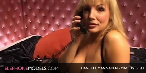 TelephoneModels.com Danielle Mannaken Sex Station May 31st 2011 Danielle Mannaken   Sex Station   May 31st 2011