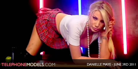 TelephoneModels.com Danielle Maye Elite TV June 3rd 2011 Danielle Maye   Elite TV   June 3rd 2011