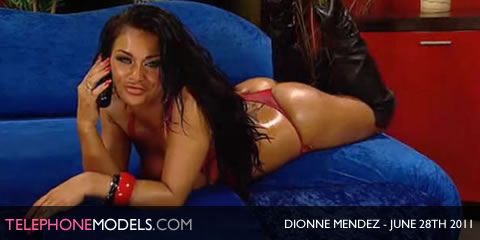 TelephoneModels.com Dionne Mendez Red Light Central June 28th 2011 Dionne Mendez   Red Light Central   June 28th 2011