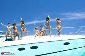 TelephoneModels.com Babestation Girls Yacht Shoot 002 300x199 Babestation Yacht Girls