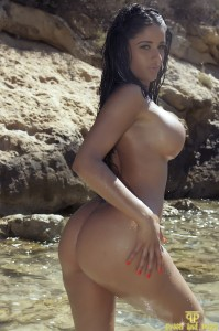 TelephoneModels.com Preeti Young Beach Shoot 002 199x300 Preeti Young Naked In The Sea
