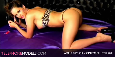 TelephoneModels.com Adele Taylor Elite TV September 13th 2011 Adele Taylor   Elite TV   September 13th 2011