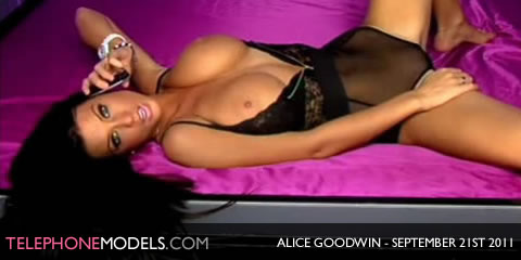 TelephoneModels.com Alice Goodwin Elite TV September 21st 2011 Alice Goodwin   Elite TV   September 21st 2011