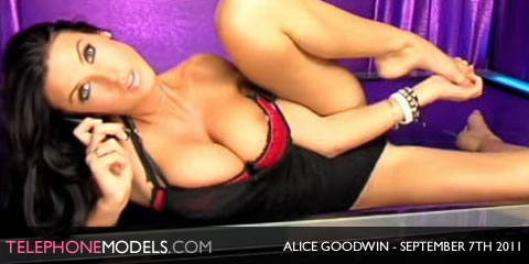 TelephoneModels.com Alice Goodwin Elite TV September 7th 2011 Alice Goodwin   Elite TV   September 7th 2011   Part 1