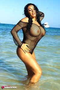 TelephoneModels.com Dani O Neal September 16th 2011 1 199x300 Dani ONeal Beach Body Stocking