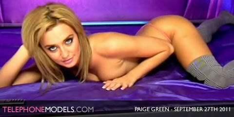 TelephoneModels.com Paige Green Elite TV September 27th 20111 Paige Green   Elite TV   September 27th 2011   Part 2
