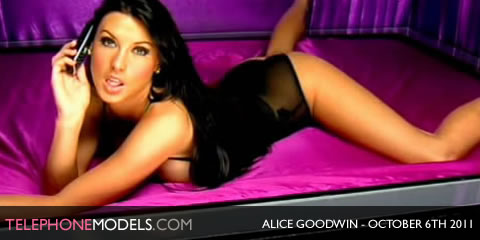 TelephoneModels.com Alice Goodwin Elite TV October 6th 2011 Alice Goodwin   Elite TV   October 6th 2011   Part 1