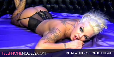 TelephoneModels.com Delta White Elite TV October 11th 2011 Delta White   Elite TV   October 11th 2011