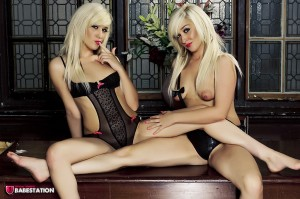 TelephoneModels.com Kara Khloe October 19th 2011 1 300x199 Kara & Khloe Babestation Twins Naked