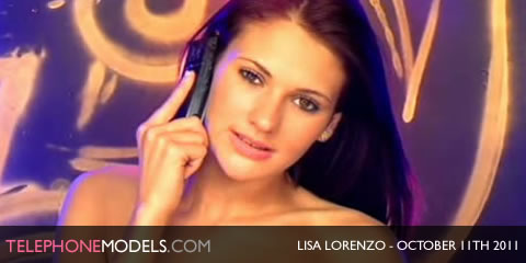 TelephoneModels.com Lisa Lorenzo Elite TV October 11th 2011 Lisa Lorenzo   Elite TV   October 11th 2011