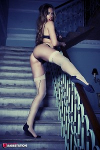 TelephoneModels.com Megan Moore September 29th 2011 1 200x300 Megan Moore Staircase Strip