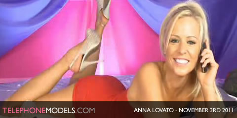 TelephoneModels.com Anna Lovato Bluebird TV November 3rd 2011 Anna Lovato   Bluebird TV   November 3rd 2011   Part 1