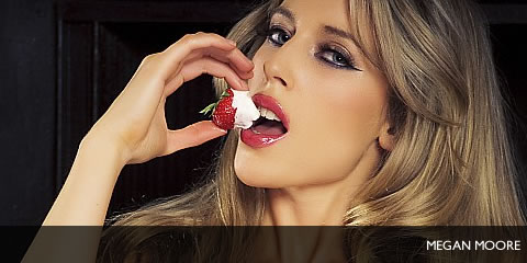 TelephoneModels.com Megan Moore November 21st 2011 Megan Moore Ice Cream and Strawberries