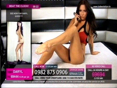 TelephoneModels.com Daryl Morgan Babestation December 14th 2011 014 Daryl Morgan   Babestation   December 14th 2011
