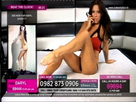 TelephoneModels.com Daryl Morgan Babestation December 14th 2011 015 Daryl Morgan   Babestation   December 14th 2011