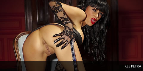 TelephoneModels.com Ree Petra December 15th 2011 Ree Petra PVC and Whips Babestation Shoot