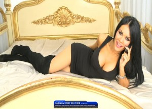 TelephoneModels.com Danni Summers Bluebird TV January 8th 2012 03 300x217 Danielle Summers   Bluebird TV   January 8th 2012
