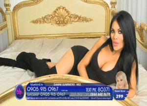 TelephoneModels.com Danni Summers Bluebird TV January 8th 2012 04 300x217 Danielle Summers   Bluebird TV   January 8th 2012