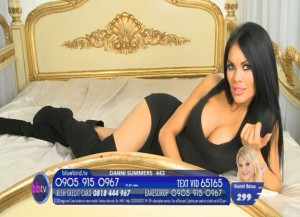 TelephoneModels.com Danni Summers Bluebird TV January 8th 2012 05 300x217 Danielle Summers   Bluebird TV   January 8th 2012