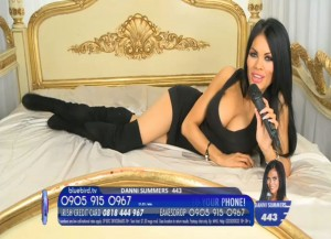 TelephoneModels.com Danni Summers Bluebird TV January 8th 2012 08 300x217 Danielle Summers   Bluebird TV   January 8th 2012