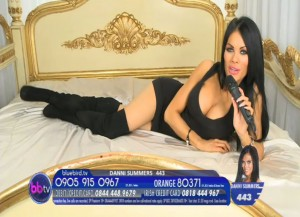 TelephoneModels.com Danni Summers Bluebird TV January 8th 2012 09 300x217 Danielle Summers   Bluebird TV   January 8th 2012