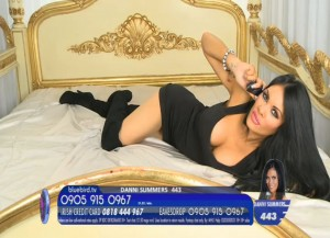 TelephoneModels.com Danni Summers Bluebird TV January 8th 2012 12 300x217 Danielle Summers   Bluebird TV   January 8th 2012