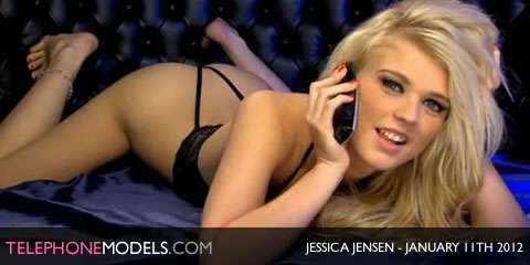 TelephoneModels.com Jessica Jensen Elite TV January 11th 2012 Jessica Jensen   Elite TV   January 11th 2012