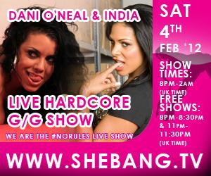 300x2501 LIVE UPDATES: Dani ONeal & India Shebang Girl/Girl Show