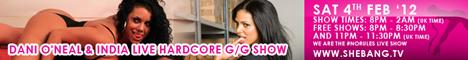 468x601 LIVE UPDATES: Dani ONeal & India Shebang Girl/Girl Show
