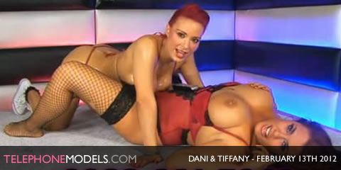 TelephoneModels.com Dani O Neal Tiffany Chambers Babestation February 13th 2012 Dani ONeal & Tiffany Chambers   Babestation   February 13th 2012
