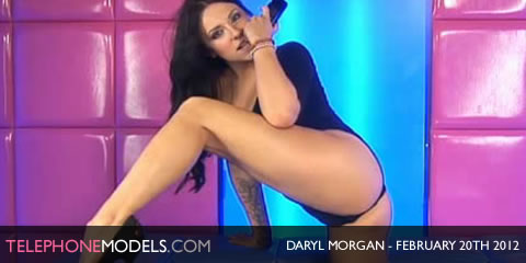 TelephoneModels.com Daryl Morgan Babestation February 20th 2012 Daryl Morgan   Babestation   February 20th 2012