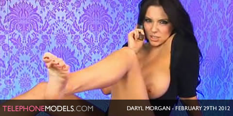 TelephoneModels.com Daryl Morgan Babestation February 29th 2012 Daryl Morgan   Babestation   February 29th 2012
