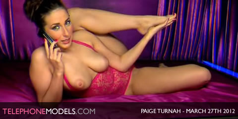 TelephoneModels.com Paige Turnah Elite TV March 27th 2012 Paige Turnah   Elite TV   March 27th 2012