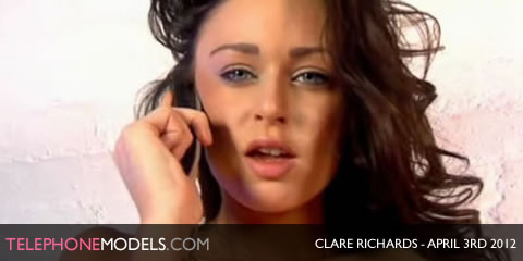 TelephoneModels.com Clare Richards Elite TV April 3rd 2012 Clare Richards   Elite TV   April 3rd 2012