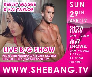 keeley magee kai taylor 300x250 Keeley Magee & Kai Taylor Shebang Live Hardcore Boy/Girl Show Tonight