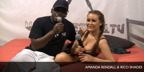 TelephoneModels.com Amanda Rendall Rico Shades Shebang TV Karina Currie, Amanda Rendall & Rico Shades Shebang Live Hardcore Boy/Girl/Girl Show Tonight