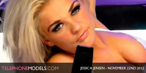 TelephoneModels.com Jessica Jenson Studio 66 TV November 22nd 2012 Jessica Jensen   Studio 66 TV   November 22nd 2012