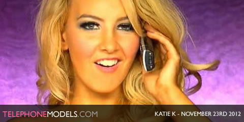 TelephoneModels.com Katie K Studio 66 TV November 23rd 20121 Katie K   Studio 66 TV   November 23rd 2012